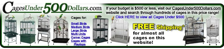 Cages Under 500 Dollars