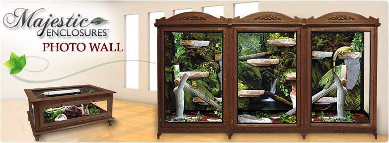 Majestic Reptile Furniture Cages