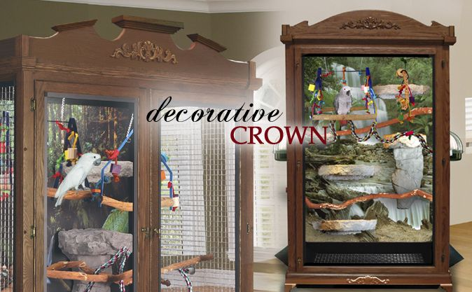 Decorative Birdcage Crown Molding