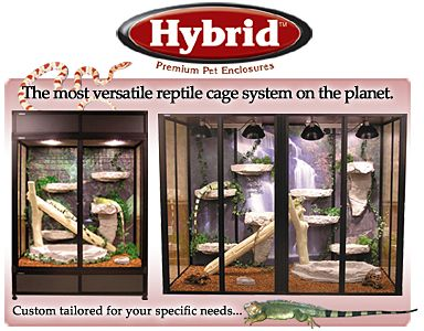 Reptile Cages and Enclosures