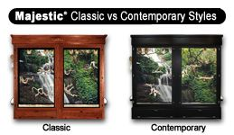 Majestic Bird - Reptile Cages - Classic vs Contemporary
