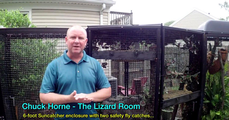 Suncatcher Lizard Room Testimonial From Chuck Horne