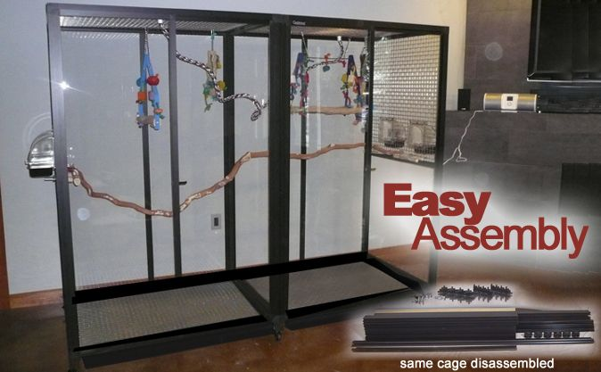 Easy Assembly Bird Cages