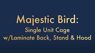 Majestic Bird and Reptile Cage Instructions