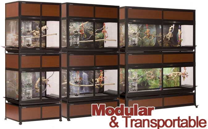 Modular and Transportable bird cages