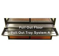pull out floor and tray system