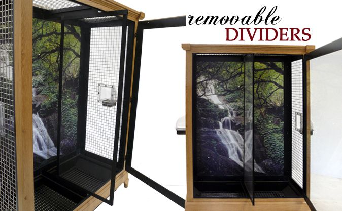 Removable Bird Cage Dividers