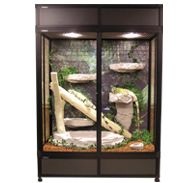 Hybrid Reptile Cage Features