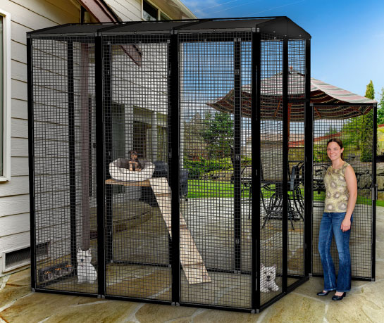 Suncatcher Outdoor Dog Cages Kennels