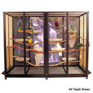 "HB04 Bird Cage 72""H x 96""L x 36""D H3 - 1"