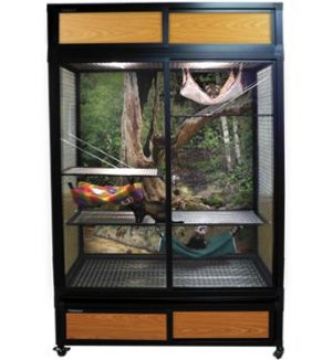 """HS1 Pkg - Small Animal Indoor Cage - 60""""H x 48""""L x 24""""D"""