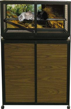 """HS2 Pkg - Small Animal Indoor Cage - 18""""H x 36""""L x 24""""D"""