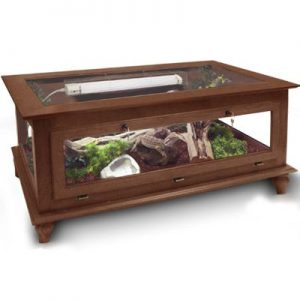 "Coffee Table Reptile Cage 24""H x 48""L x 24""D"