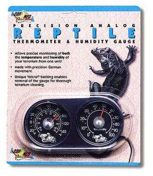 Precision Analog Thermometer / Humidity Gauge
