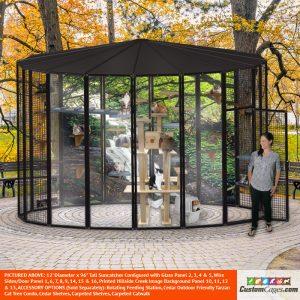 12' Diameter Indoor/Outdoor Cat Cage 1