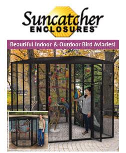 outdoor bird cages suncatcher