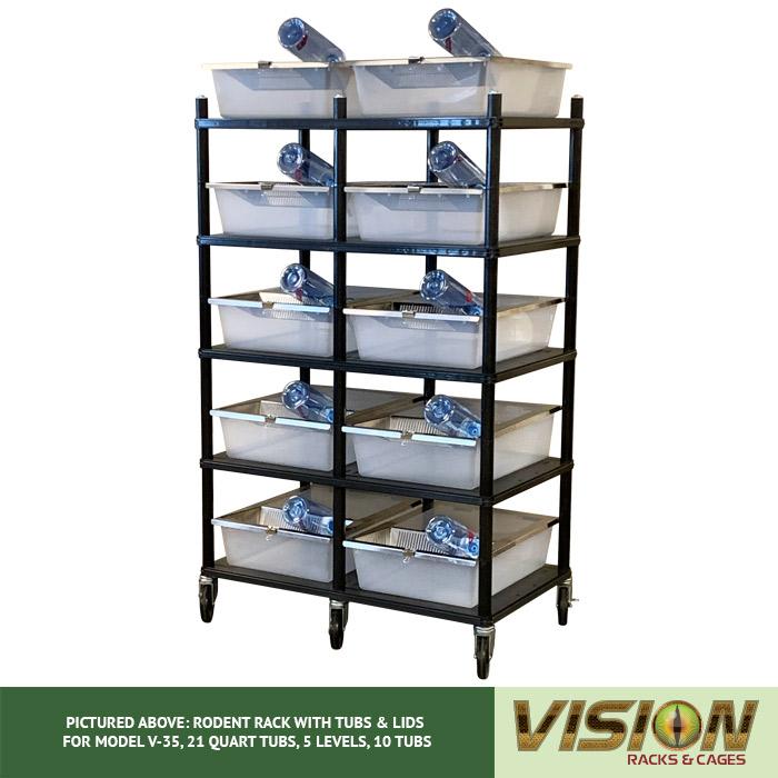 v-35 rodent breeding racks