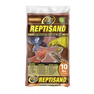 Terrarium Sand - Red (10 Pound)